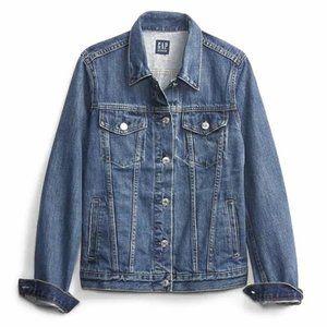 Gap Stretch Denim Jean Jacket Size Small Womens